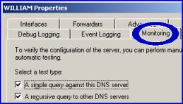 DNS Server Icon - Monitoring Windows Server 2003