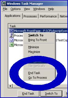 WMI Win32_Process.  List process then kill or terminate