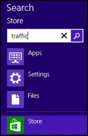 Windows 8 App Store Search